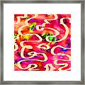 Cool Colors Framed Print