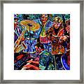 Cool Jazz Framed Print