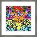 Cool Kitty Cat Framed Print