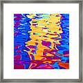 Cool Meets Warm Framed Print