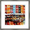 Copenhagen Denmark Framed Print