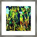 Corner Of The Woods Framed Print