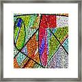 Cosmic Lifeways Mosaic Framed Print