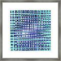 Cotton Field Abstract Framed Print