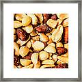 County Kitchen Texture Framed Print