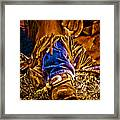 Cowboy Gold Framed Print