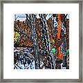 Crabtree Creek A View From The Greenway Framed Print