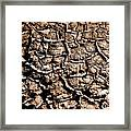 Cracked Earth Framed Print