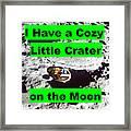 Crater19 Framed Print