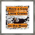 Crater3 Framed Print