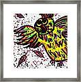 Crazybird Framed Print
