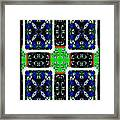 Creating Stained Glass Framed Print