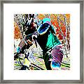 Cross Country Framed Print by Peter  McIntosh