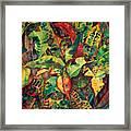 Crotones Framed Print