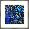 Crystal Blues Framed Print