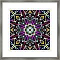 Crystal Sun Framed Print