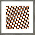 Cubism Squared Framed Print