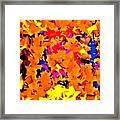 Cubist Tesseract Framed Print