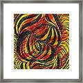 Curved Lines 2 Framed Print