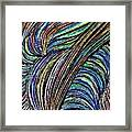 Curved Lines 7 Framed Print