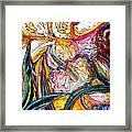 Daffodil Delirium Framed Print