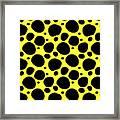 Dalmatian  Black Pattern 05-p0173 Framed Print