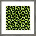 Dalmatian  Black Pattern 09-p0173 Framed Print