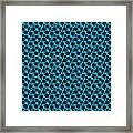 Dalmatian  Black Pattern 18-p0173 Framed Print