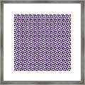 Dalmatian Pattern With A White Background 30-p0173 Framed Print