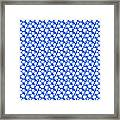 Dalmatian  White Pattern 18-p0173 Framed Print