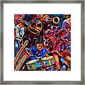 Dance Latino Framed Print