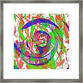 Danceyflam Framed Print
