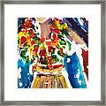 Dancing Hula Framed Print