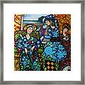 Dancing In Newburyport Framed Print