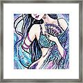 Dancing With The Waves Framed Print