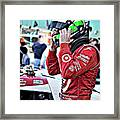 Dario Franchitti  Framed Print