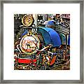 Darjeeling Toy Train Framed Print