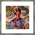 David Bowie Song Reference Painting Framed Print