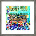 Day Before Christmas At Neiman Marcus . Photoart Framed Print