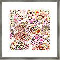 Day Of The Dead Colors Framed Print