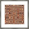 Dead Agave Stump Abstract Framed Print