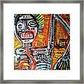 Death Of Basquiat Framed Print