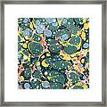 Decorative Endpaper Framed Print