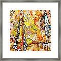 Art And Theater Framed Print