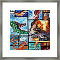 Deepwater Oil Spill Framed Print