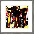 Derriere Framed Print