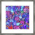 Desert Vibe Bloom Framed Print