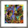Detour Abstract Art Framed Print