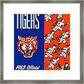 Detroit Tigers 1962 Yearbook Framed Print