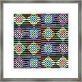 Diamond Quilt 1 Framed Print